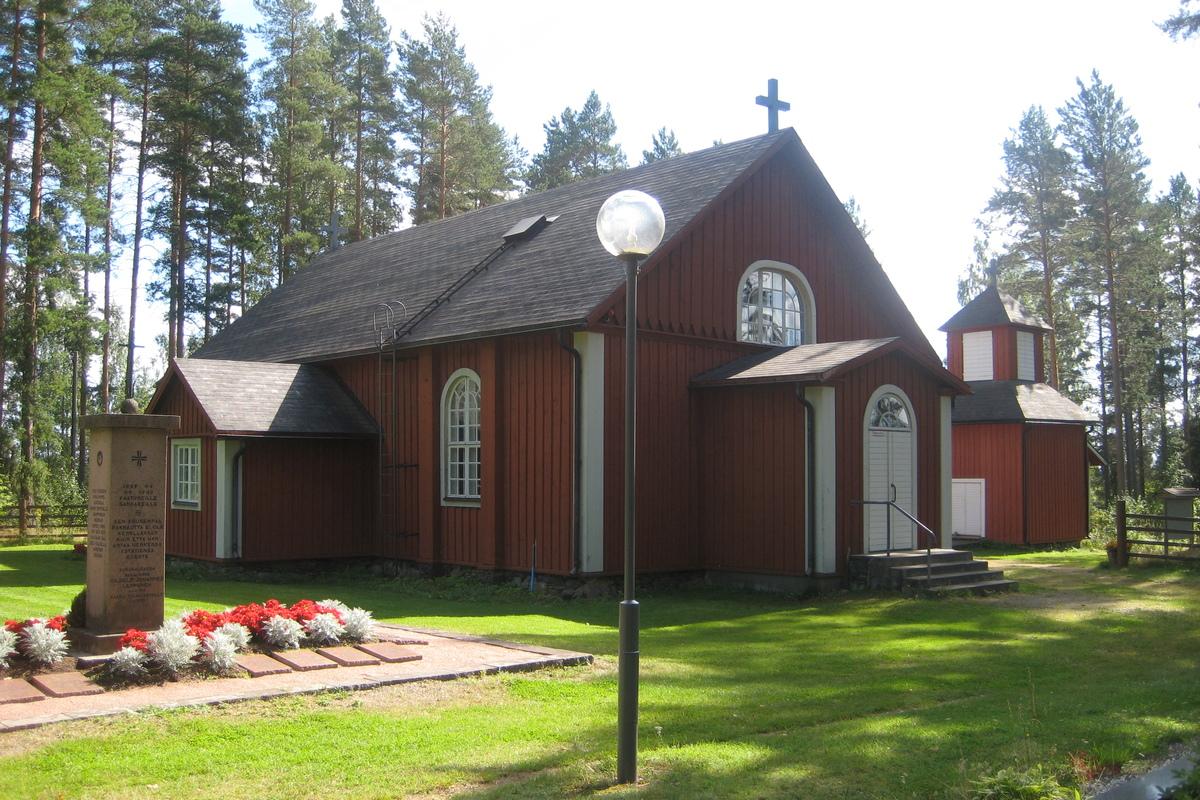 Vehkajärven kirkko