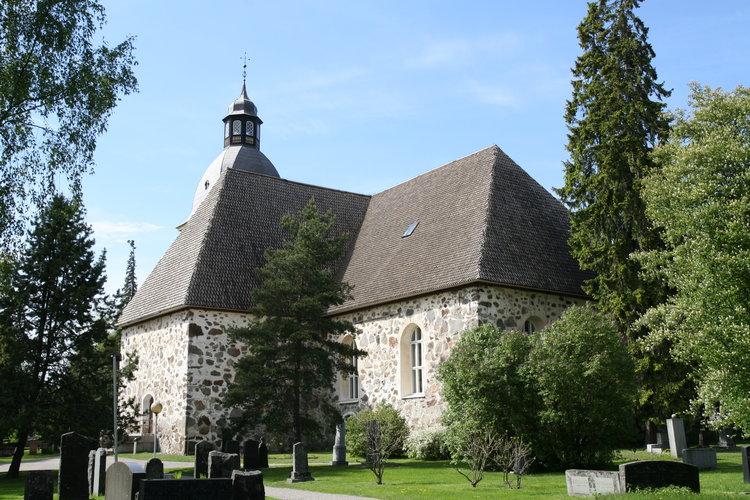 Kangasalan kirkkoa uudistetaan syksyn remontissa - Kangasalan seurakunta